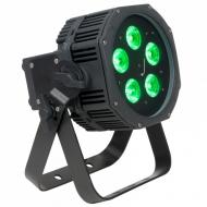 American DJ WIFLY EXR HEX5 IP 5 x 5W LED RGBAW+UV LED Par Fixture w/ Built-in Wireless DMX