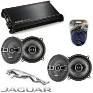 Jaguar XJ 1986-1993 OEM Speaker Replacement Kicker (2) KSC5 & DX400.4 Amplifier