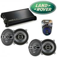 Land Rover Discovery 94-99 OEM Speaker Replacement Kicker (2) KSC5 & DX400.4 Amp
