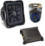 "Kicker 8"" S8L7 W/ DX500.1 & 8 Gauge Amp Kit"