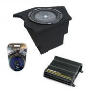 "Chevy Camaro 93-02 10"" Loaded Kicker CVT10 Sub Box W/ CX600.1 Amplifier & 8 Gauge Kit"