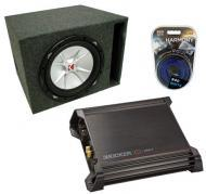 "Kicker 15"" CVR15 Amplified Sub Box W/ DX500.1 Amp"