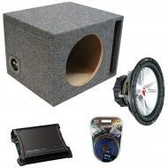 "Kicker Car Audio Loaded Single 15"" Ported 07CVR15 Comp VR Subwoofer Enclosure Sub box with Z..."