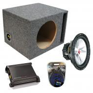 "Kicker Car Audio Loaded Single 15"" Ported CVR15 Comp VR Subwoofer Enclosure Sub box with DX5..."