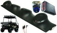 "Bad Boy Buggy Rockford R152 & PBR300X4 Amp Quad (4) 5 1/4"" Speakers UTV Pod System"