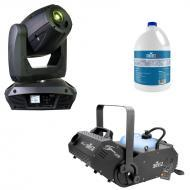 Elation Platinum Spot 5R Moving Head w/ H1800FLEX Fogger & 1 Gallon Fog Fluid