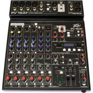 Peavey PV 10 AT 120US 4-Channel Non-Powered Compact Studio Mixer with Antares Auto-Tune Correction
