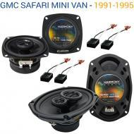 GMC Safari Mini Van 1991-1995 OEM Speaker Upgrade Harmony Speakers Package New