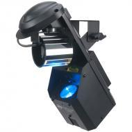 American DJ INNO POCKET FUSION 12-Watt LED DMX Barrel Mirror Scanner + Green Laser Fixture - Limi...