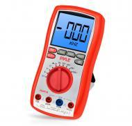 Pyle Meters PDMT38 Digital LCD Range Multimeter with Rubber Case and Stand