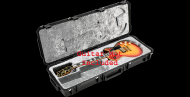 SKB Cases 3I-4214-56 Injection Molded Guitar Flight Case - Les Paul Style & Shaped Interior w...