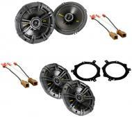 Nissan Frontier 1998-2004 Kicker Factory Coaxial Speaker Replacement CS654 & CS54 Package