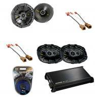 Nissan Frontier 2005-2010 Kicker Factory Coaxial Speaker Replacement CS654 & CS6934 Package w...