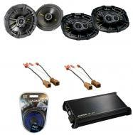 Nissan Murano 2003-2007 Kicker Factory Coaxial Speaker Replacement CS654 & CS6934 Package wit...