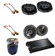 Nissan Xterra 2000-2010 Kicker Factory Coaxial Speaker Replacement CS654 & CS6934 Package wit...