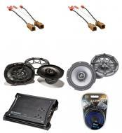Nissan Frontier 2005-2010 Kicker Factory Coaxial Speaker Replacement KS65 & KS693 Package wit...