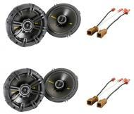 """Nissan Maxima 1995-2008 Kicker Factory 6 1/2"""" Coaxial Speaker Replacement (2) CS654 Package New"""