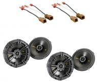 "Nissan Sentra 1995-2006 Kicker Factory 6 1/2"" Coaxial Speaker Replacement (2) CS654 Package New"