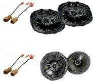 Nissan Titan 2008-2011 Kicker Factory Coaxial Speaker Replacement CS654 & CS6934 Package