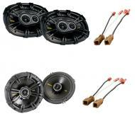 Nissan Xterra 2000-2010 Kicker Factory Coaxial Speaker Replacement CS654 & CS6934 Package