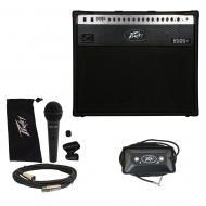 "Peavey 6505 + Plus 112 Electric Guitar 60W Amp 12"" Combo w/ Footswitch & Mic New"