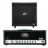 "Peavey 430B 412 Guitar Straight Cabinet (4) 12"" Speakers & 6505 Amp Head New"