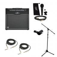 """Peavey ValveKing Combo 20 Electric Guitar Amp 20W 12"""" Speaker Mic Stand Cables"""