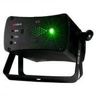 American DJ MICRO 3D II Sound-Active Red/Green Laser Effect Fixture w/ Included IR Remote Controller