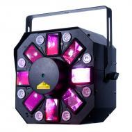 American DJ STINGER II 3-FX-in-1 Moonflower/Strobe/Laser LED Effect Lighting Fixture