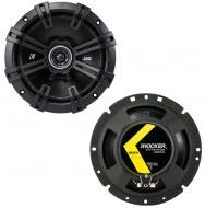 "Kicker 43DSC6704 6.75"" DS Series 60W RMS 4 Ohm Coaxial Car Audio Speakers DSC67"