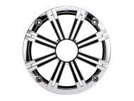 "Kicker 41KM65GCR 6.5"" Round Marine Grille for KM Series Coaxial Speakers - Chrome"