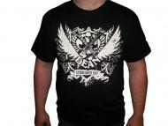 Dean Guitars 77 Crest Black Tee Shirt - 2XL Size (DC XXL)
