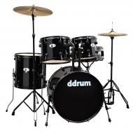 dDrum D120B Series 5-Piece Drum Kit - Black Wrap Finish (D120B MB)