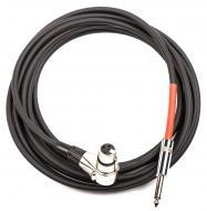 dDrum Right Angle XLR to 1/4 Trigger Cable for Hybrid 6/5 & CK Units (6999 RA)
