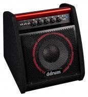 dDrum 50 Watt Kickback Drum Amp Electronic Percussion Amplifier with 10-inch Speaker (DDA50)