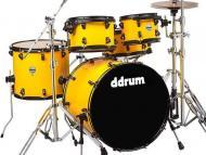 dDrum Journeyman Player Gen2 5-Piece Drum Kit - Flash Yellow Finish (J2P 522 FY)