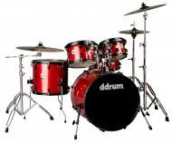 dDrum Journeyman Player Gen2 5-Piece Drum Kit - Red Sparkle Finish(J2P 522 RSP)