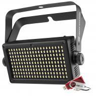 Chauvet SHOCKERPANEL180USB 180 SMD LED Hi-Impact Strobe Lighting Fixture with D-Fi USB Connectivity