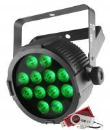 Chauvet SLIMPACKT12USB Package of 4 SlimPar T12 USB Wash Light Fixture with Carry Bag & DMX C...