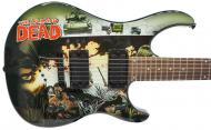 Peavey The Walking Dead - Cover Wrap Predator Electric Guitar Signed by Robert Kirkman with Certi...