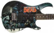 Peavey The Walking Dead - OmniV4 Survivors Electric Guitar Signed by Robert Kirkman with Certific...