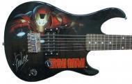 Peavey Marvel Avengers Iron Man 3/4 Size Electric Guitar Signed by Stan Lee with Certificate of A...