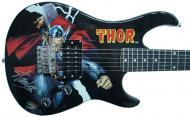 Peavey Marvel Avengers Thor 3/4 Size Electric Guitar Signed by Stan Lee with Certificate of Authe...