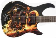 Peavey Marvel Ghost Rider Predator Electric Guitar Signed by Stan Lee with Certificate of Authent...
