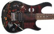 Peavey Marvel Deadpool Full Size Electric Guitar Signed by Stan Lee with Certificate of Authentic...