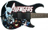 Peavey Marvel Avengers Predator Electric Guitar Signed by Stan Lee with Certificate of Authentici...