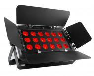 Chauvet SLIMBANKT18USB Tri-Color 18 RGBA LED Wash Lighting Fixture with Wireless D-Fi USB Compati...