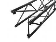 "Odyssey NEX20040BLK 8x8"" Square Black Nexus Folding DJ Truss - 16"" Long Section"