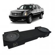 2002-2013 Cadillac Escalade EXT Underseat Kicker CompVT CVT12 Dual 12 Sub Box Enclosure - Final 2...