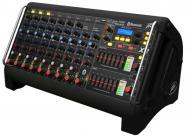 Peavey XR-AT Pro Audio DJ 1500W Peak Powered 9 Channel Live Sound Stage Mixer
